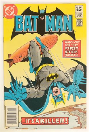 Batman #352 VF+ 1982