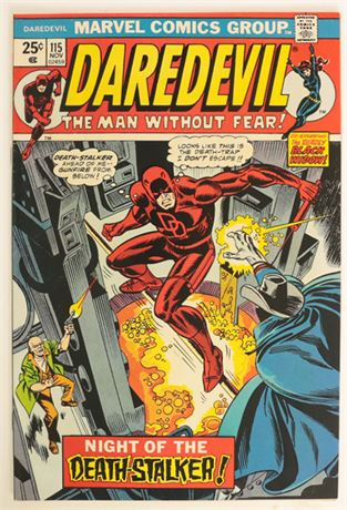 Daredevil #115 VF 1974