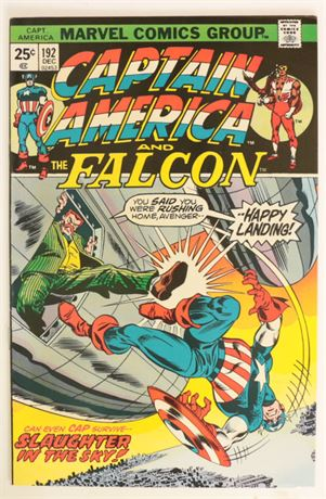 Captain America #192 F/VF 1975