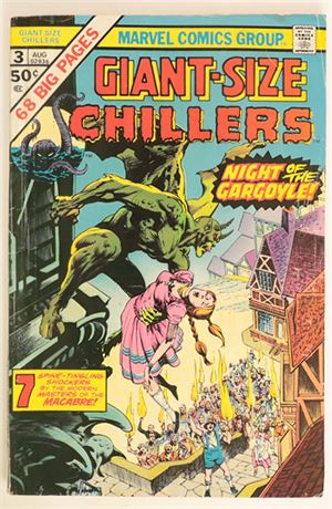 Giant-Size Chillers #3 G/VG 1975