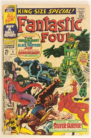 Fantastic Four Special #5 FR/GD 1967