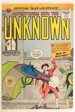 Adventures Into The Unknown #131 VG- 1961