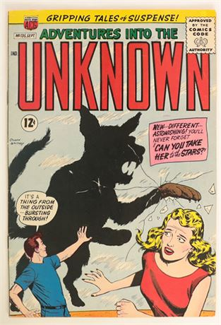 Adventures Into The Unknown #135 FN+ 1962