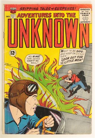 Adventures Into The Unknown #140 G/VG 1963