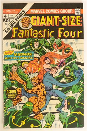 Giant-Size Fantastic Four #4 VF 1975