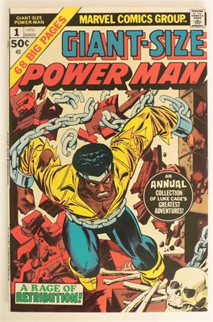 Giant-Size Power Man #1 VG+ 1975