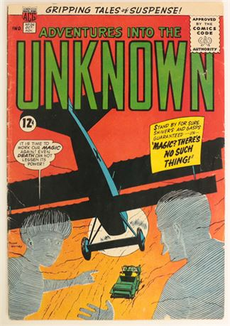 Adventures Into The Unknown #136 G/VG 1962