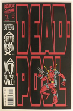 Deadpool: The Circle Chase #1 NM- 1993
