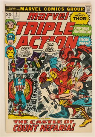 Marvel Triple Action #7 VF/NM 1972