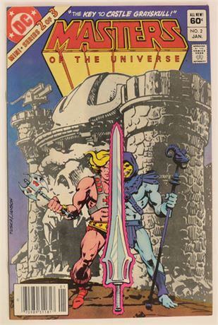 Masters of the Universe #2 VF/NM 1982