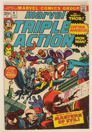 Marvel Triple Action #9 NM- 1973