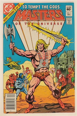 Masters of the Universe #1 VF/NM 1982