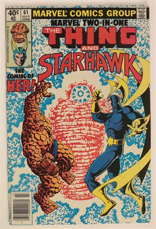 Marvel Two-In-One #61 VF/NM 1980