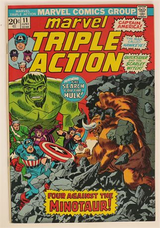Marvel Triple Action #11 NM- 1973