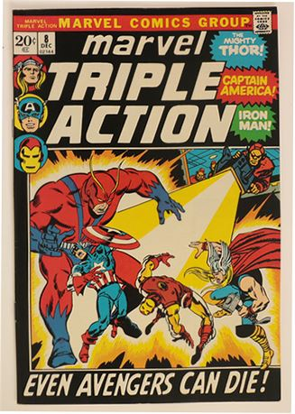 Marvel Triple Action #8 VF- 1972