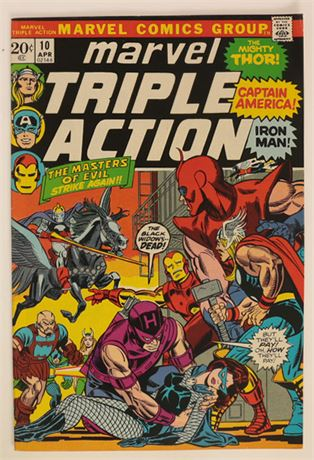 Marvel Triple Action #10 VF 1973