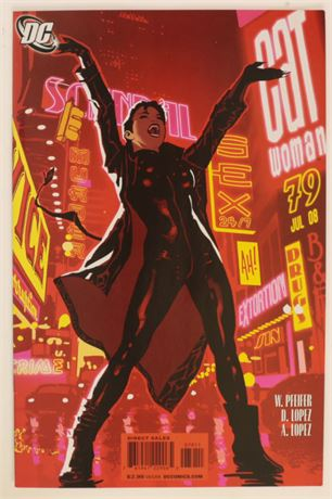 Catwoman #79 VF/NM 2008