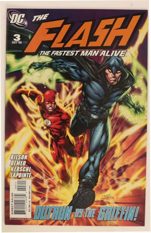 Flash: The Fastest Man Alive #3 VF/NM 2006
