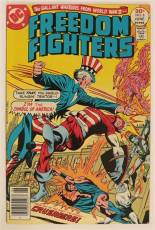 Freedom Fighters #8 VF 1977
