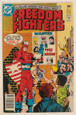Freedom Fighters #9 VF+ 1977