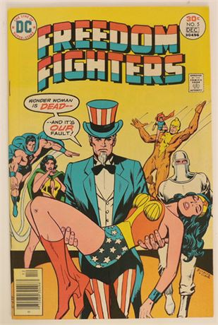 Freedom Fighters #5 VF+ 1976