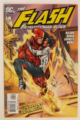Flash: The Fastest Man Alive #4 NM- 2006