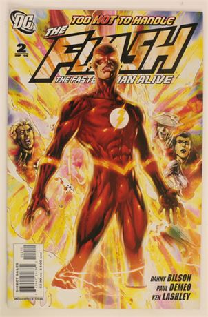 Flash: The Fastest Man Alive #2 NM- 2006