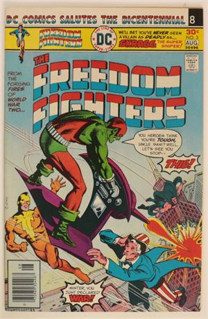 Freedom Fighters #3 VF- 1976