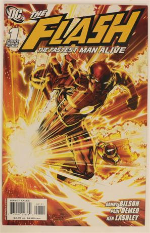 Flash: The Fastest Man Alive #1 VF 2006