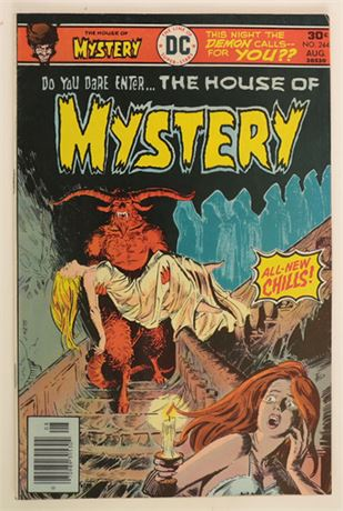 House of Mystery #244 VG/F 1976