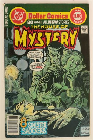 House of Mystery #255 FN+ 1978