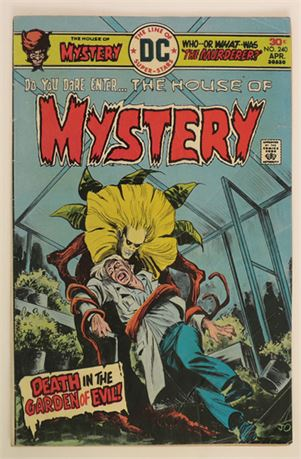 House of Mystery #240 VG- 1976