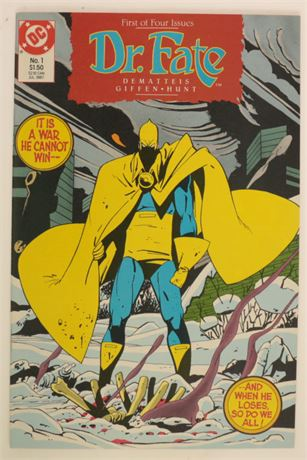 Doctor Fate #1 NM- 1987