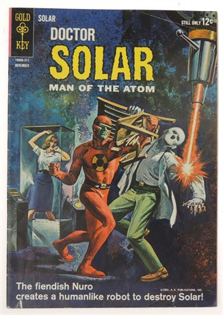 Doctor Solar, Man of The Atom #6 VG/F 1963