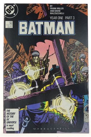 Batman #406 NM 1987