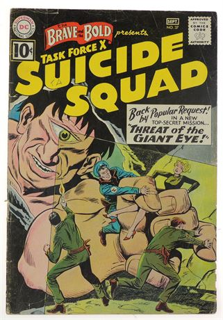 Brave and The Bold #37 VG- 1961