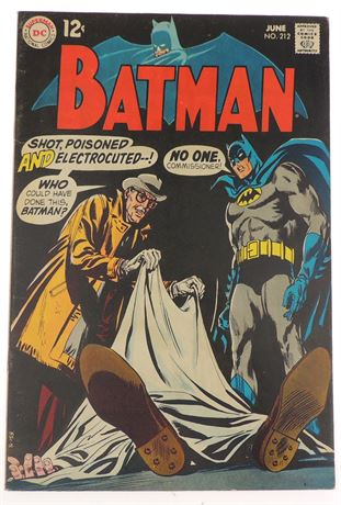 Batman #212 F/VF 1969