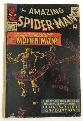 Amazing Spider-Man #28 GD+ 1965