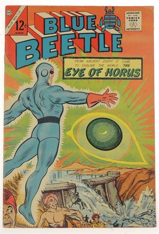 Blue Beetle Vol 3 #54 F/VF 1966