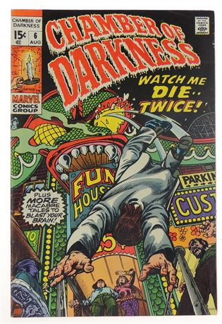 Chamber of Darkness #6 FN 1970