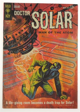 Doctor Solar, Man of The Atom #4 FN 1963