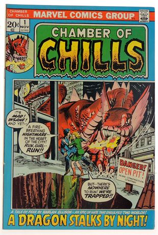 Chamber of Chills #1 VF- 1972