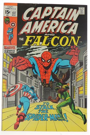 Captain America #137 F/VF 1971