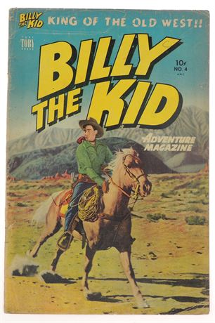 Billy The Kid Adventure Magazine #4 VG 1951