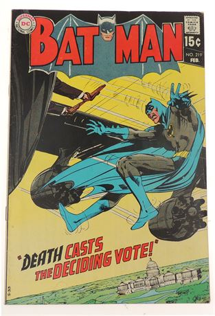 Batman #219 F/VF 1970