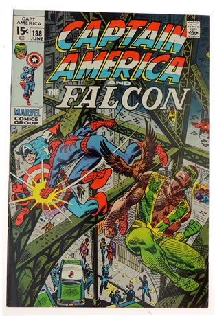 Captain America #138 VF 1971