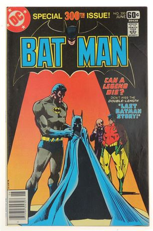 Batman #300 F/VF 1978
