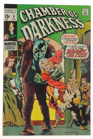 Chamber of Darkness #8 F/VF 1970