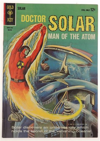 Doctor Solar, Man of The Atom #7 FN 1964
