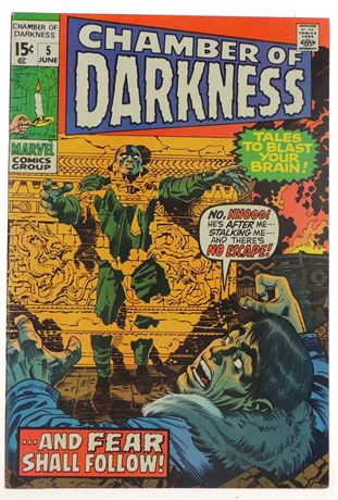 Chamber of Darkness #5 VF- 1970